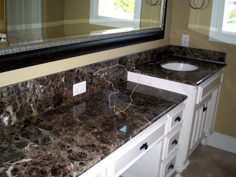 Столешница из черного гранита цена Кухонные столешницы искуственный камень Уваровка