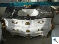 мойка в ванную из камня
