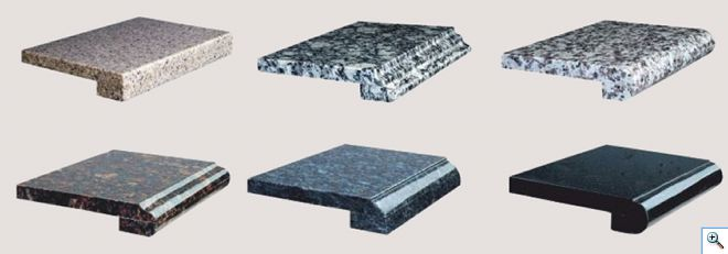 подоконник из камня